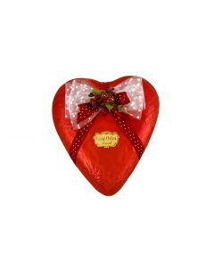 Dark Chocolate Red Wrapped Hearts (medium)