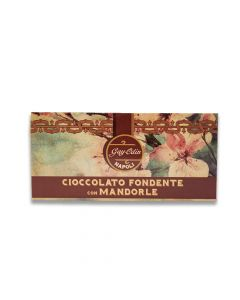 Almonds chocolate bar
